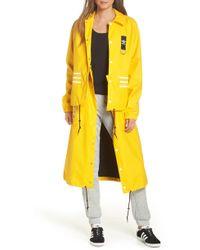 adidas - Originals X Olivia Oblanc Convertible Trench Coat - Lyst