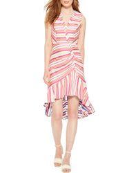 Parker - Candy Ruffle Hem High/low Dress - Lyst