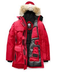 Canada Goose - Expedition Hooded Down Parka With Genuine Coyote Fur Trim - Lyst