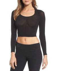 Spanx - Spanx Arm Tights Crop Top - Lyst
