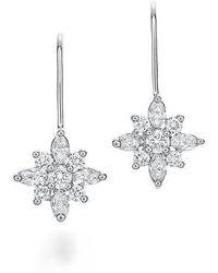 Kwiat - .90ct Tw Diamond Star Earrings - Lyst