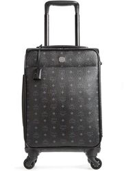 MCM - Small Traveler Visetos 21-inch Trolley Wheeled Suitcase - Lyst