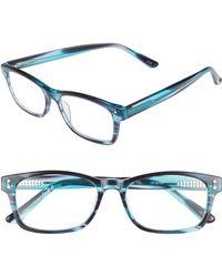Corinne Mccormack Edie 52mm Reading Glasses - Lilac Demi Fade