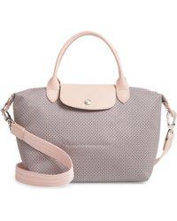 Longchamp - Small Le Pliage Dandy Print Shoulder Bag - Lyst