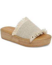 Tony Bianco - Ebony Platform Sandal - Lyst