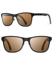 Shwood | Canby 54mm Polarized Pine Cone & Titanium Sunglasses | Lyst