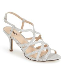 Paradox London Pink - 'rich Glitter' Sandal - Lyst