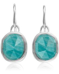 Monica Vinader | Siren Semiprecious Stone Drop Earrings | Lyst