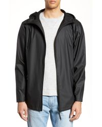 Rains - Breaker Water Resistant Jacket - Lyst