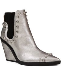 Nine West - Zoneout Studded Chelsea Bootie - Lyst