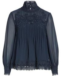 Ted Baker - Cailley Lace Top - Lyst