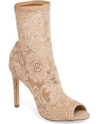 Charles David - Imaginary Lace Sock Bootie - Lyst