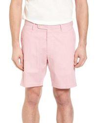 Peter Millar - Summer Pinstripe Flat Front Shorts - Lyst