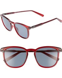 Ferragamo - Double Gancio 53mm Sunglasses - Bordeaux - Lyst