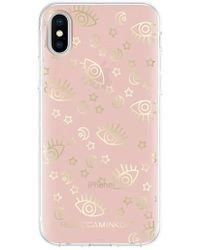 Rebecca Minkoff - Metallic Galaxy Icon Iphone X Case - Lyst