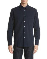 Rag & Bone   Standard Issue Solid Sport Shirt   Lyst