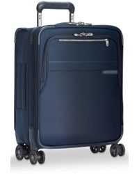 Briggs & Riley - Baseline Large Expandable Spinner (navy Blue) Luggage - Lyst