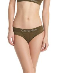 CALVIN KLEIN 205W39NYC - Body Cotton Bikini - Lyst