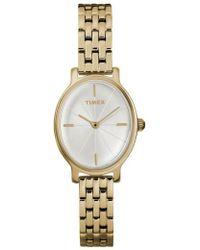 Timex - Timex Milano Oval Bracelet Watch - Lyst