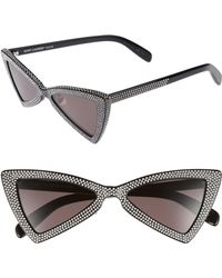 Saint Laurent - Jerry 53mm Sunglasses - Lyst