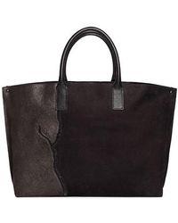 Akris - Ai Medium Top Handle Pebbled Leather Tote Bag - - Lyst