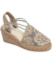 Toni Pons | Medan Faux Fur Lined Espadrille Wedge | Lyst