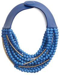 Fairchild Baldwin - Mini Bella Beaded Collar Necklace - Lyst
