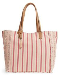 Vince Camuto - Iona Canvas Tote - Lyst