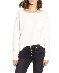 J.Crew - Pocket Sweatshirt - Lyst