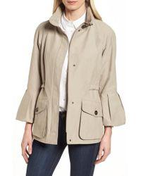 Gallery - Bell Sleeve Jacket With Stowaway Hood - Lyst