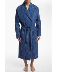 Polo Ralph Lauren - Woven Robe - Lyst