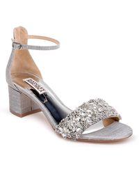 Badgley Mischka - Badgley Mischka Liz Ankle Strap Sandal - Lyst