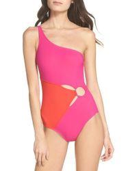 Diane von Furstenberg   O-ring One-piece Swimsuit   Lyst