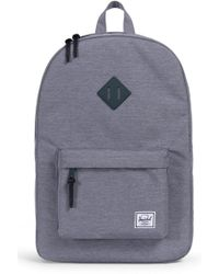 86d03b8f24b Lyst - Herschel Supply Co. Heritage Backpack in Gray for Men