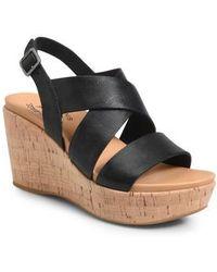 Kork-Ease - Kork-ease Ashcroft Wedge Sandal - Lyst
