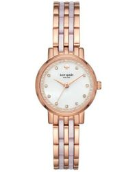 Kate Spade | Monterey Crystal Dial Bracelet Watch | Lyst