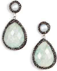 Elise M - Saintes Semiprecious Drop Earrings - Lyst