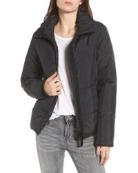 Maralyn & Me - Rail Quilted Puffer Jacket - Lyst