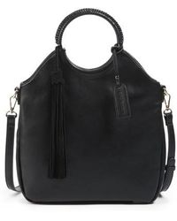Sole Society - Faux Leather Bracelet Bag - Lyst