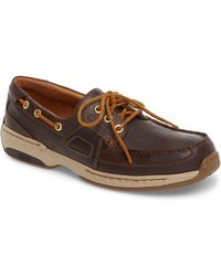 Dunham Ltd Water Resistant Boat Shoe - Brown