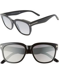 4075c9df8c7 Tom Ford - Rhett 55mm Sunglasses - - Lyst