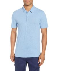 Vince - Slim Fit Polo - Lyst