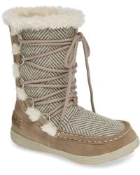 Woolrich - Lace Up Bootie - Lyst