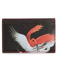 Alexander McQueen - Leather Card Holder - None - Lyst
