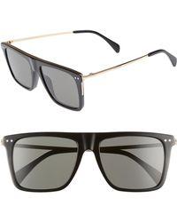 ed0b34e51a0 Céline - 54mm Polarized Flat Top Sunglasses - Lyst