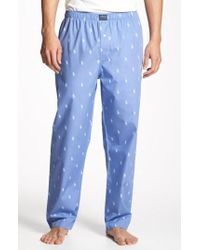 Polo Ralph Lauren - Cotton Lounge Pants - Lyst