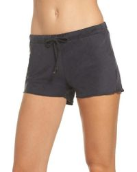 Ragdoll - Silk Pajama Shorts - Lyst