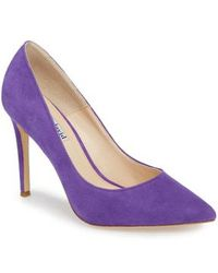 Charles David - Calessi Pointy Toe Pump - Lyst