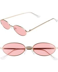 Quay - Clout 54mm Round Sunglasses - - Lyst