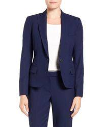 Anne Klein | One-Button Suit Jacket | Lyst